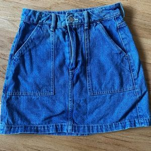 H&M Vintage style Denim Skirt
